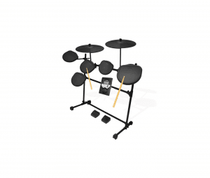 Pyle Pro 9 Piece Electronic Drums Set