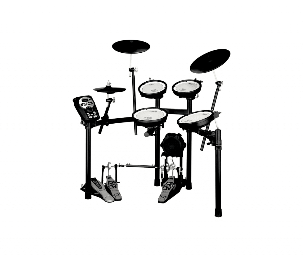 Electric drum set image used for guide