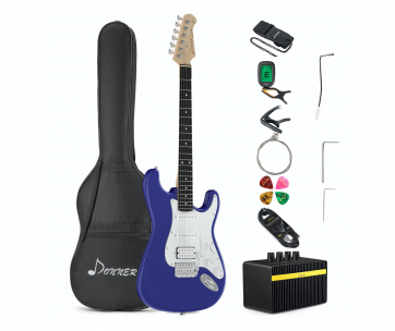 Guitar kit used in best beginner electric guitar kits