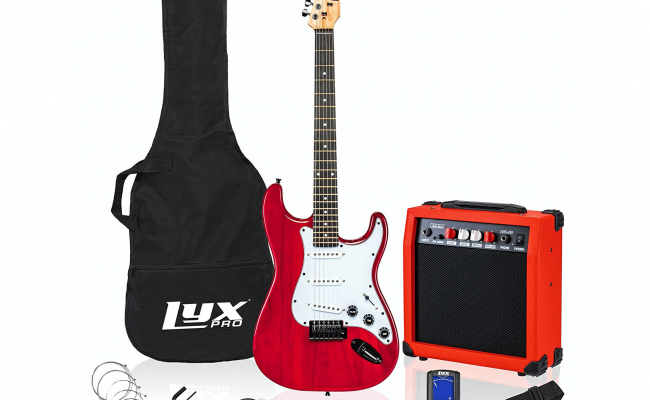 LyxPro-39-inch-Electric-Guitar-Kit-1